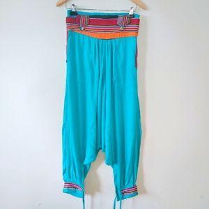 Bohemian Harem Pants